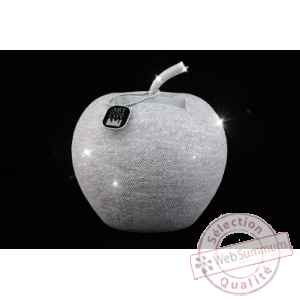 Sparkling dreams pomme blanche 22.000 swarovski® - ed. limitee 199ex Art in the City -77200
