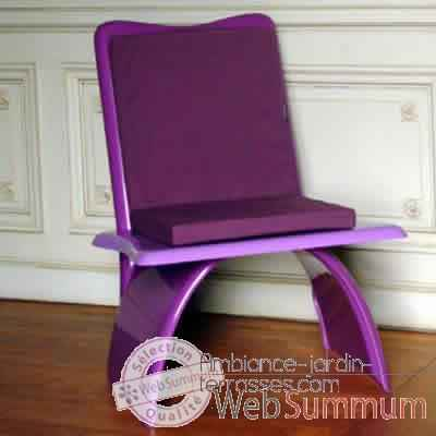 Fauteuil design Vagance lilas Art Mely - AM20
