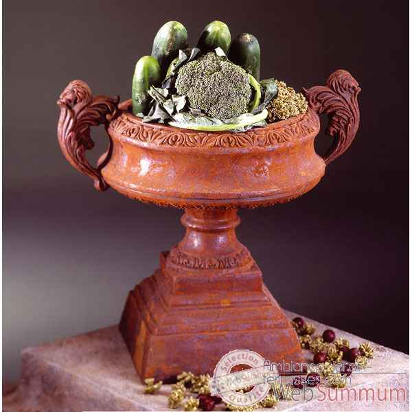 Vases-Modele French Planter,  surface granite-bs3027gry