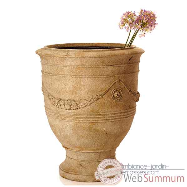 Vases-Modèle Anduz Pot,  surface granite-bs3056gry