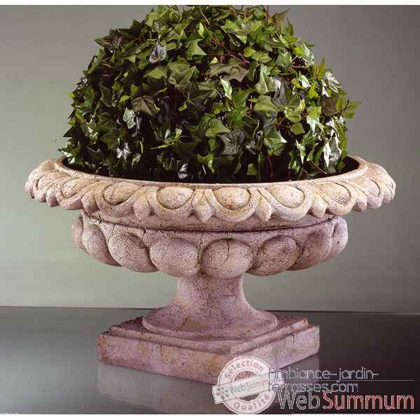 Vases-Modele Kensington Urn,  surface granite-bs3088gry