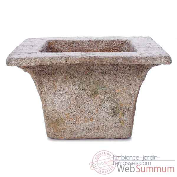 Vases-Modele Perth Planter,  surface granite-bs3113gry