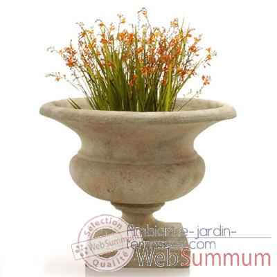 Vases-Modele Orbe Urn, surface gres-bs3167sa