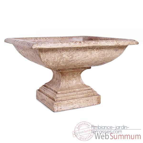 Vases-Modele Kingston Urn, surface rouille-bs3198rst