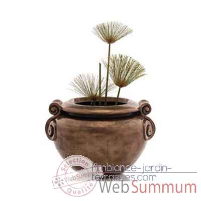 Vases-Modele Vigan Planter Junior, surface pierre romaine-bs3213ros