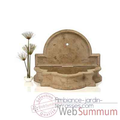 Fontaine-Modele Barcelona Fountain, surface gres-bs3268sa