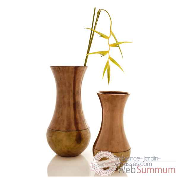 Vases-Modele Snap Jar Junior, surface bronze nouveau-bs3277nb