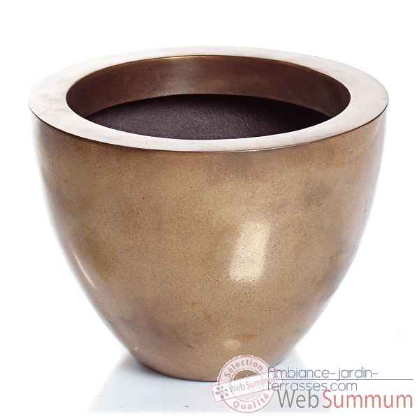 Vases-Modele Karan Bowl,  surface granite-bs3309gry