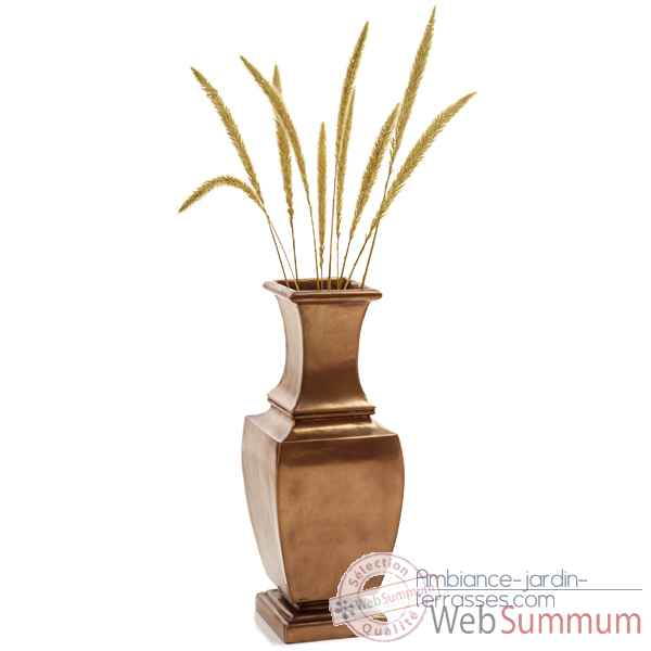 Video Vases-Modele Geneva Urn, surface bronze nouveau-bs3334nb