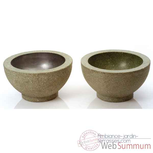 Vases-Modèle Paso Bowl Large, surface vrd-bs3348vrd