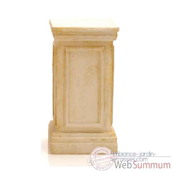 Colonne et Piedestal York Podest, granite combines fer -bs1001gry -iro