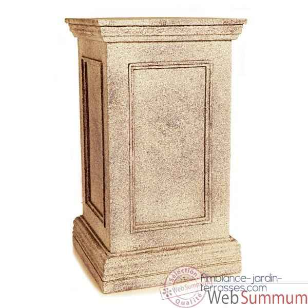 piedestal et colonne pierre dans piedestale et colonne de terrasse sur ambiance jardin terrasses. Black Bedroom Furniture Sets. Home Design Ideas