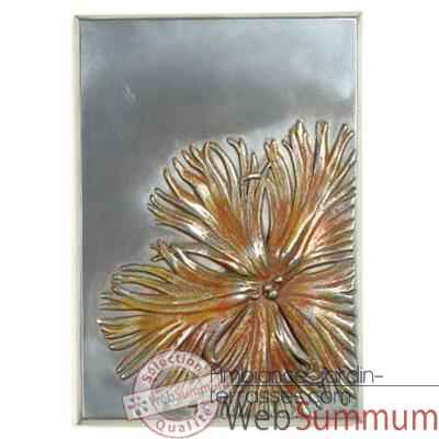 Decoration murale Dianthus Wall Plaque, aluminium -bs2391alu