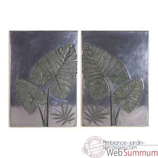 Decoration murale Taro Wall Plaque Set, aluminium -bs4100alu
