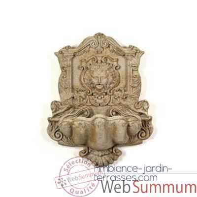 Fontaine Wind God Wall Fountain, marbre vieilli -bs2197ww