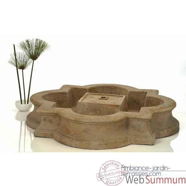 Fontaine Madrid Fountain Basin, granite -bs3160gry dans Fontaine ...