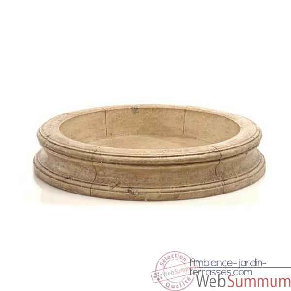 Fontaine Pisa Fountain Basin, gres -bs3191sa
