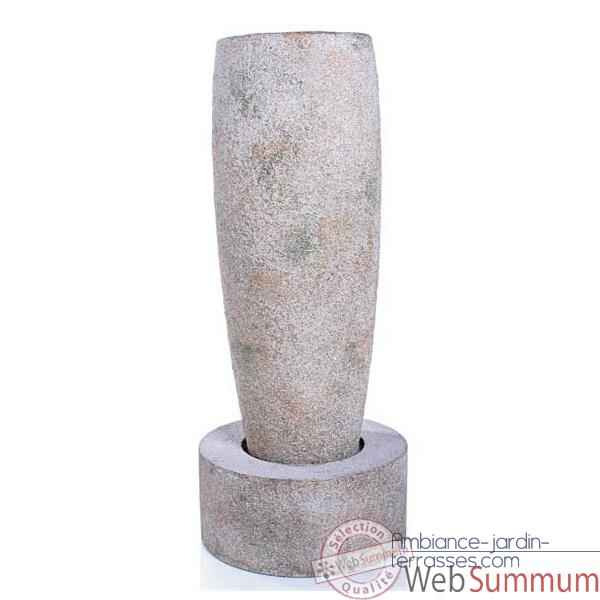 Fontaine Mati Crucible Fountain, granite -bs3503gry
