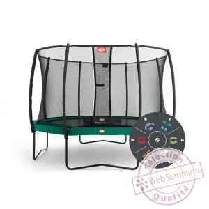 Trampoline Berg champion 430 tattoo + safety net comfort 430 Berg Toys -35.44.06.00