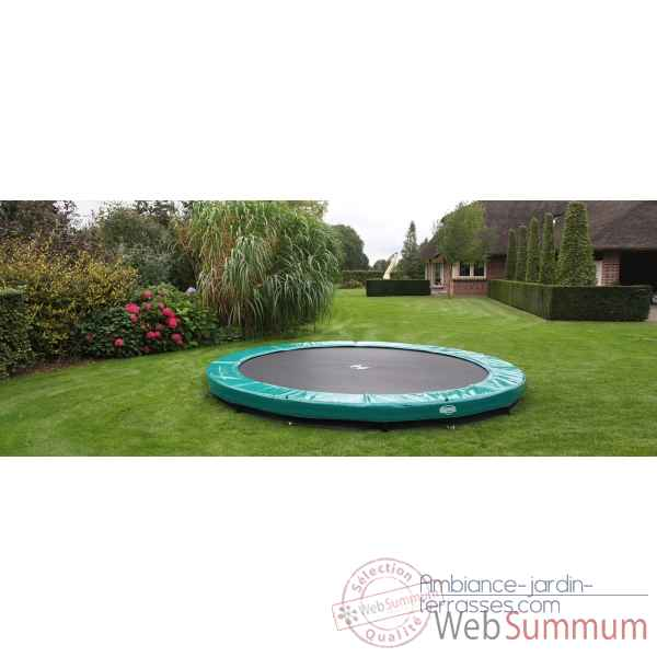 Trampoline Berg elite inground green 380 Berg Toys -37.12.00.18