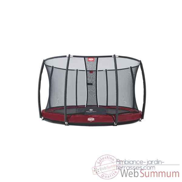Trampoline Berg elite inground red 330 + safety net t-series 330 Berg Toys -37.11.82.00