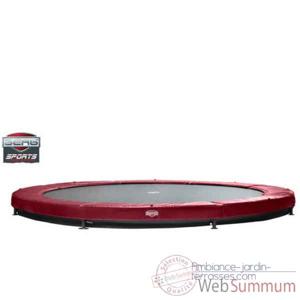 Trampoline Berg elite+ inground rouge 430 Berg Toys -37.14.00.23
