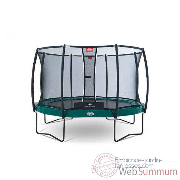 Trampoline Berg elite regular green 380 + safety net t-series 380 Berg Toys -37.12.91.00