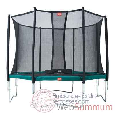 Trampoline Berg favorit 430 safety net comfort 430 Berg Toys -35.14.02.01
