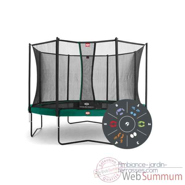Trampoline Berg favorit 430 tattoo safety net comfort 430 Berg Toys -35.14.03.01