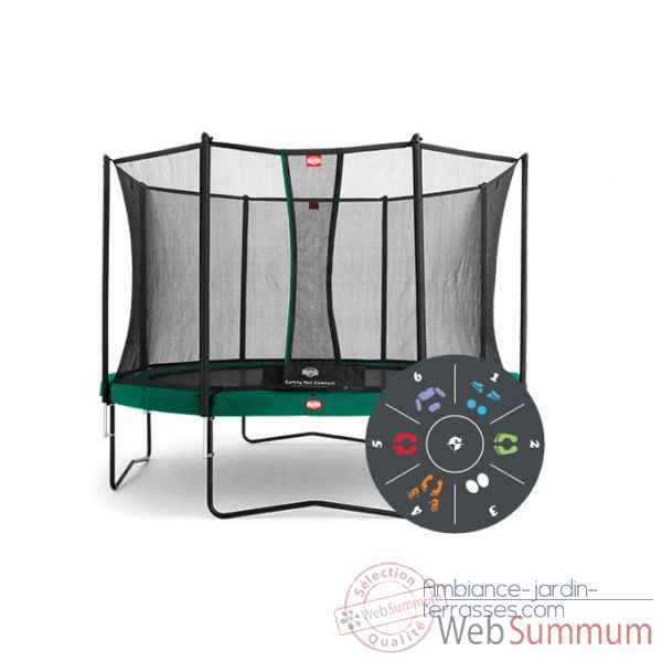Trampoline Berg favorit 430 tattoo safety net deluxe 430 Berg Toys -35.14.05.00