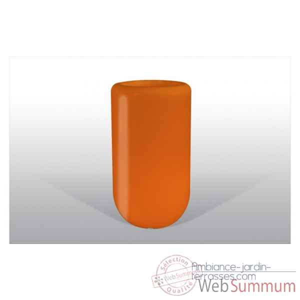 Pot fleu pill 70 cm orange Bloom -BLOOM50