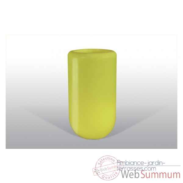 Pot fleu pill 90 cm jaune Bloom -BLOOM39
