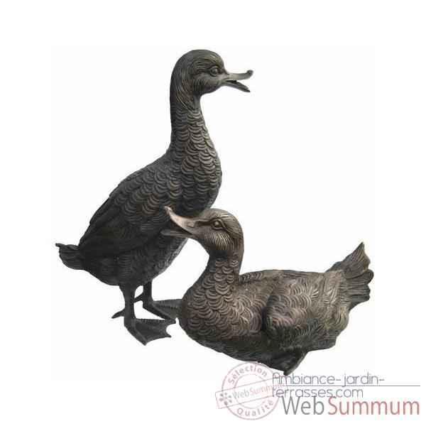 Canard en bronze brz384 dans animaux aquatiques sur for Decoration canard