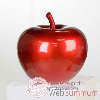 "Sculpture ""pomme"" Casablanca Design -79103"