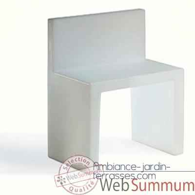 les concepteurs artistiques chaise design blanche zen. Black Bedroom Furniture Sets. Home Design Ideas