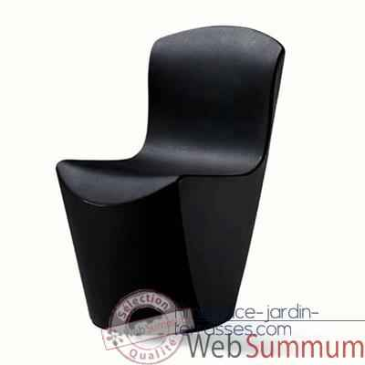 Chaise design noire slidezoe080 meuble terrasse design entertainment center - Chaises design noires ...