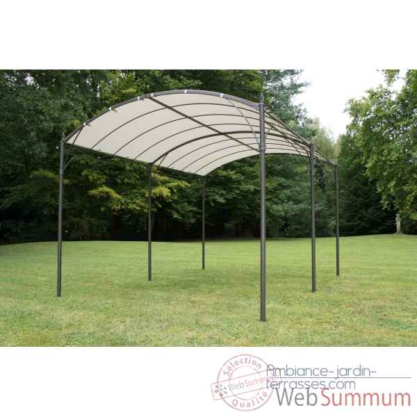 Achat de tonnelle sur ambiance jardin terrasses - Tonnelle metallique jardin ...