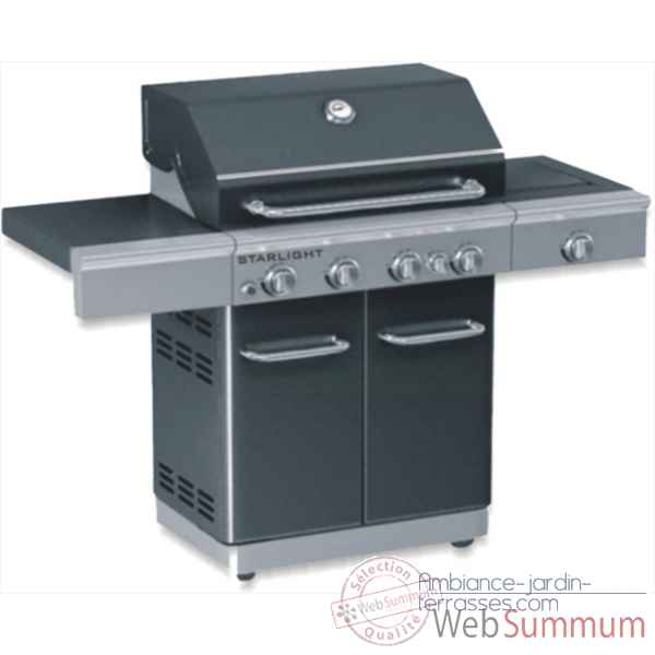 Barbecue gaz americain starlight noir Cookingarden -AM009N