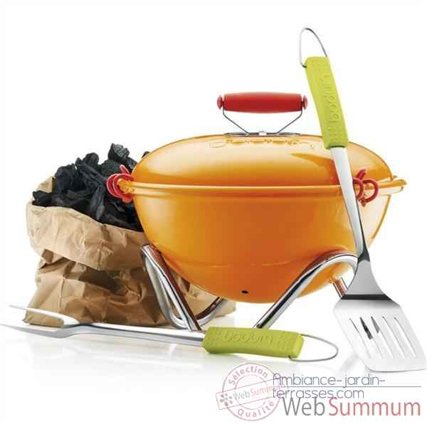 Bodum barbecue orange - fyrkat picnic -002445