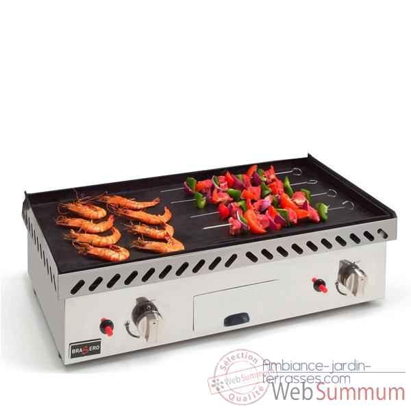 Plancha gaz brasero cuisine 8722 dans plancha sur - Plancha gaz encastrable cuisine ...