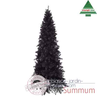 Arbre d.noel baltimore spruce h185d84 brillant noir tips 645 -388056