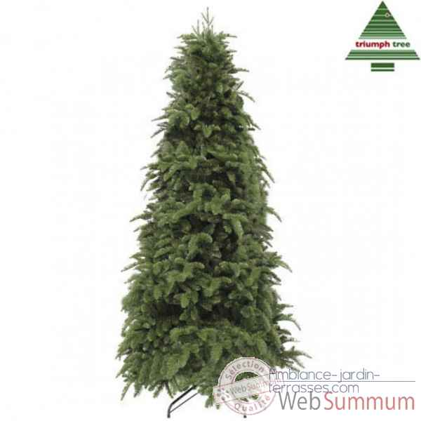 X-mas tree delux slim abies nordmann h215d124 green tips 1673 Edelman -389627