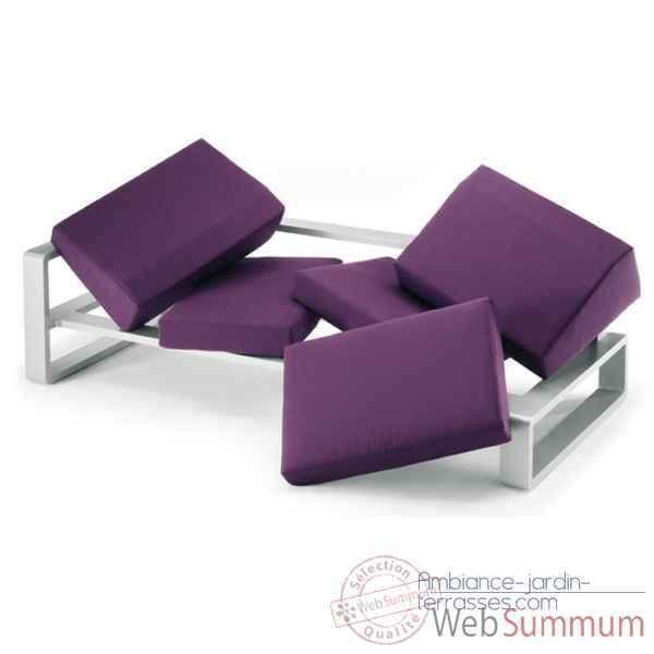 kama dyvan modulable ego paris em5dyv de meuble jardins design ego paris. Black Bedroom Furniture Sets. Home Design Ideas