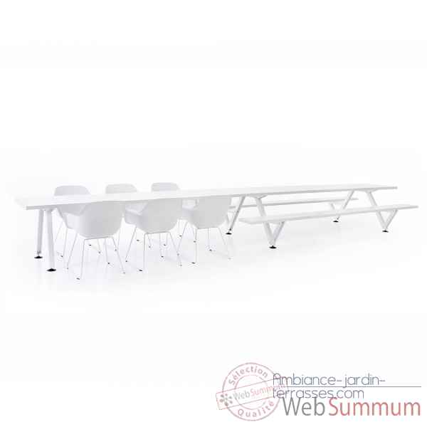 Table combi marina largeur 360cm Extremis -MPC5W0360B0165