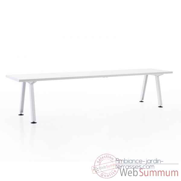 Table marina largeur 265cm extremis mta6w0265 de mobilier for Table exterieur largeur 50