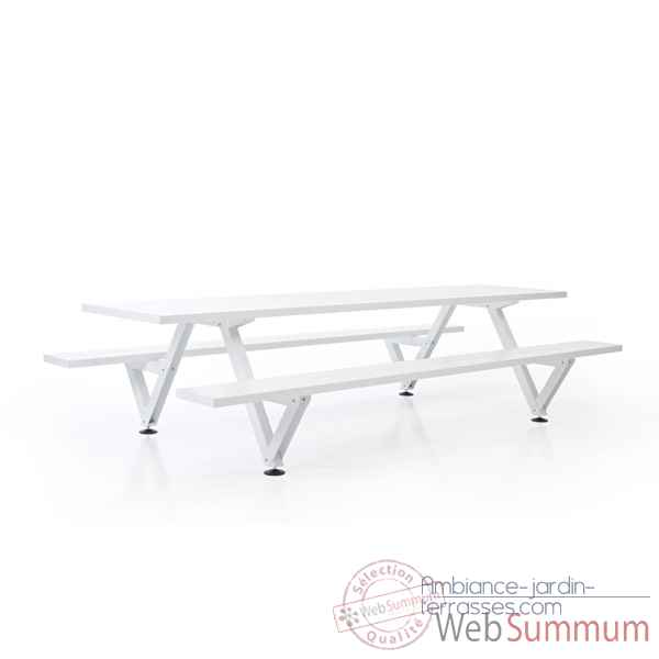Table picnic marina largeur 550cm Extremis -MPT5W0550