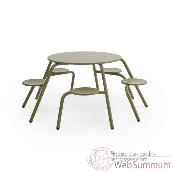 Table Virus 5 places interieur Extremis -virus-5pl-int