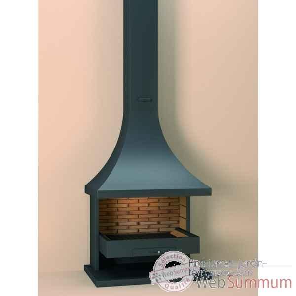 pour chemin e mod le ch22 couleur anthracite 1 m tre de tuyau cache tuyau supl mentaire focgrup. Black Bedroom Furniture Sets. Home Design Ideas