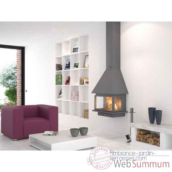 d 7 rocal de rocal dans chemin e m tallique sur ambiance jardin terrasses. Black Bedroom Furniture Sets. Home Design Ideas