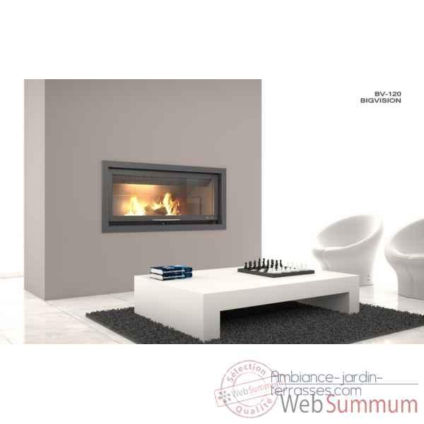 rocal de rocal dans insert foyer ferm sur ambiance jardin terrasses. Black Bedroom Furniture Sets. Home Design Ideas